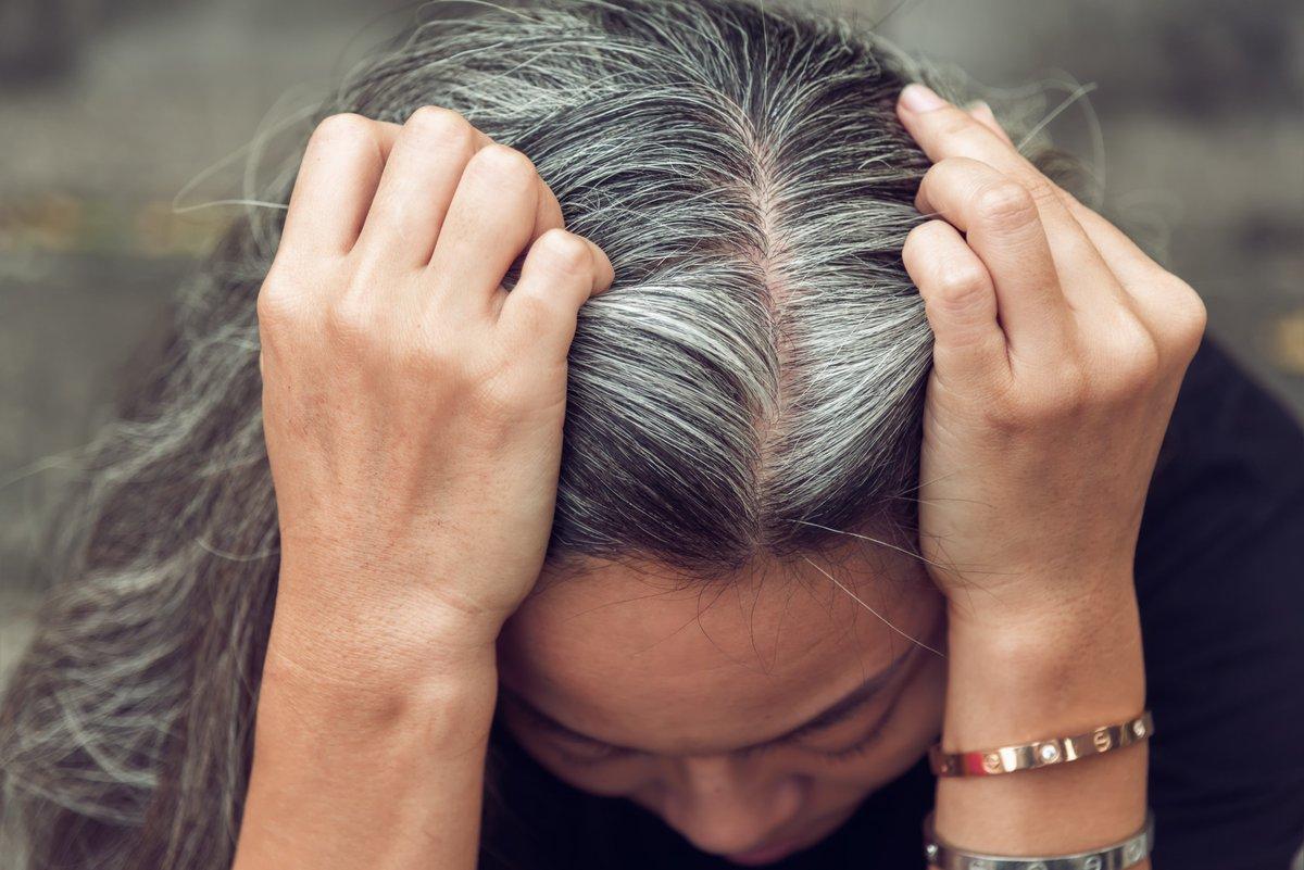 Это правда: стресс вызывает седые волосы
